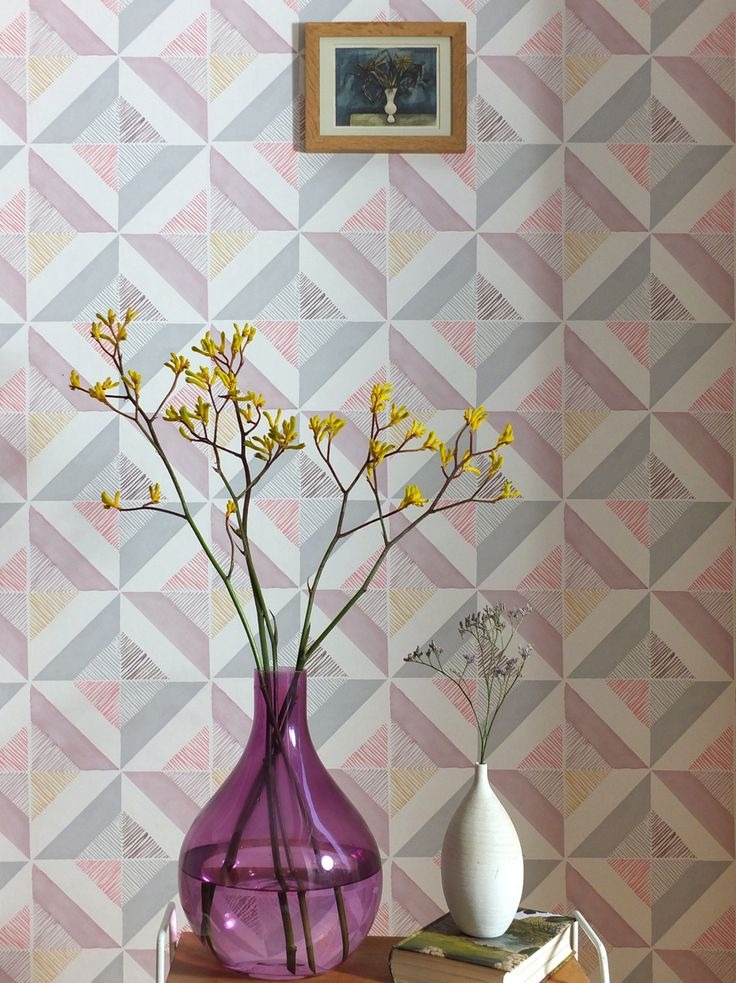 Beautiful Delightful Designer Wallpapers And Fabrics By Louise Body Who Has Been  Inspired By Century Artist Peggy Angus For Her Pretty Fabric And Wallpaper  Creations Good Ideas