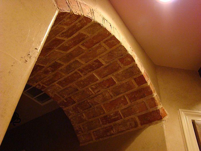 Faux Brick Arch Tuscan Decor Pinterest Brick Arch