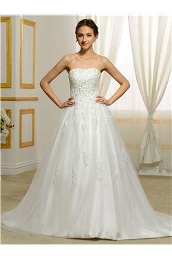 Natural Sleeveless Church Glamorous & Dramatic Winter Beading Spring Hall Wedding Dress