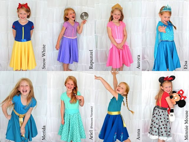 Merryweather's Cottage: Practical Princess Dress Tutorial