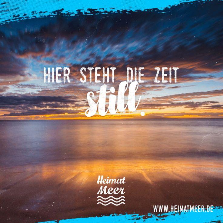 Am Meer Steht Die Zeit Einfach Still. Mee(h)r Für Meerverliebte U003e