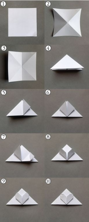 17 best images about paper on pinterest origami cranes for Step by step to build a house yourself