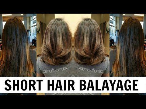 16 best espie images on pinterest hairdos hair color and hair colors hellocindee balayage tutorial for short hair asian hair youtube solutioingenieria Gallery