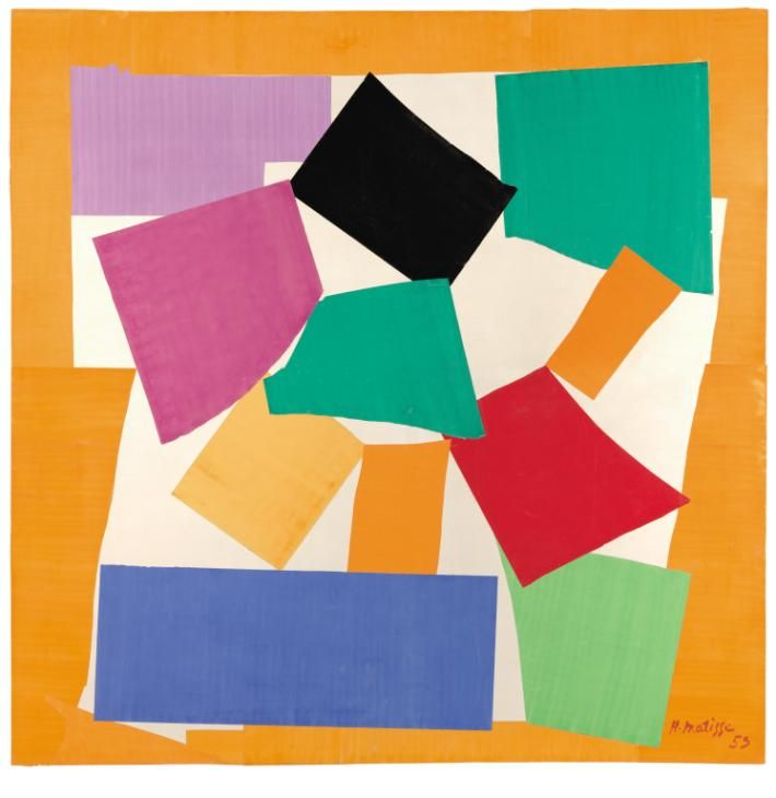 """The rhythms of Matisse's work are musically interpreted for us by Alan Scholefield, who finds 'a score of sorts for the dance of Matisse's """"carving into colour""""', with Honest Jon's Records"""