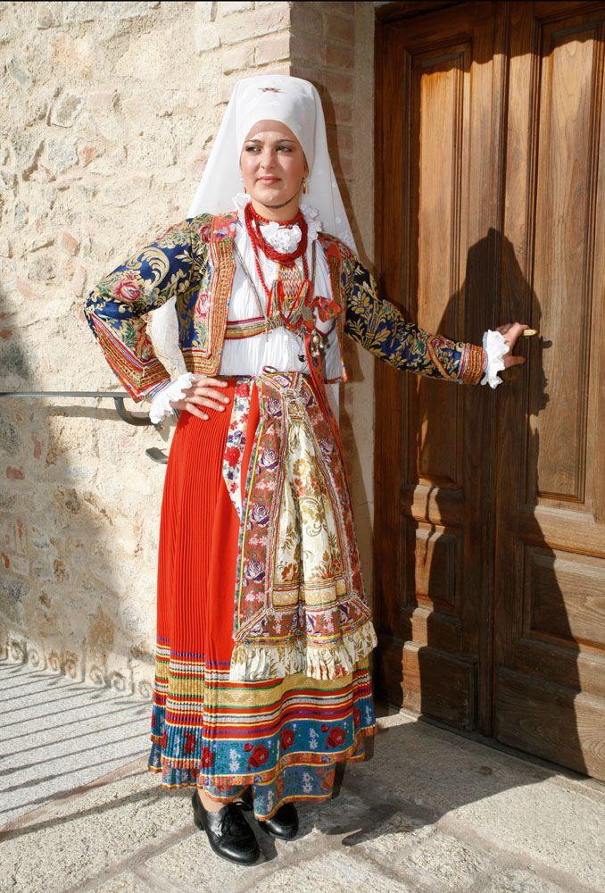 Costume of Ollolai