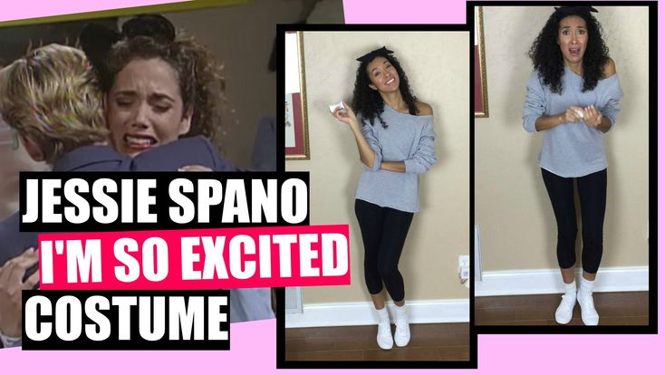 Jessie Spano I'm So Excited | Halloween Costume - YouTube