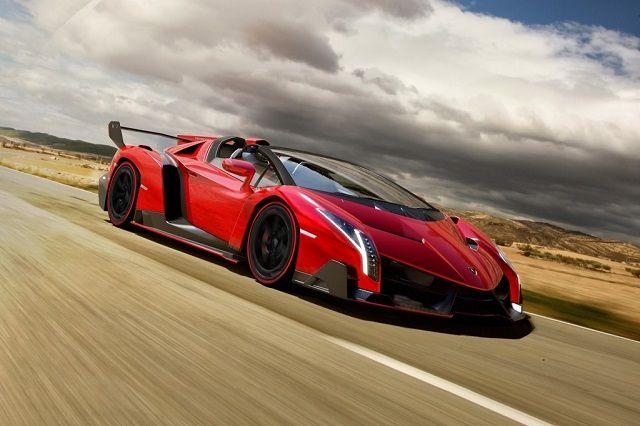 Lamborghini Veneno Specification Front View