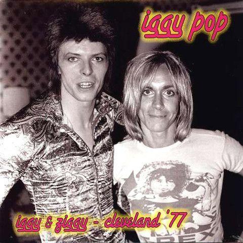 Iggy pop iggy ziggy cleveland 1977 vinyl lp turn for Iggy pop t shirt amazon