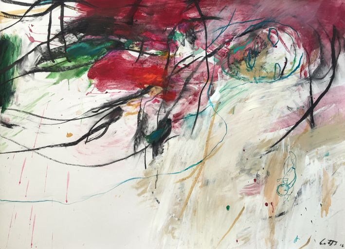 Heather Betts, Phrase work on paper, 107 x 78 cm, available