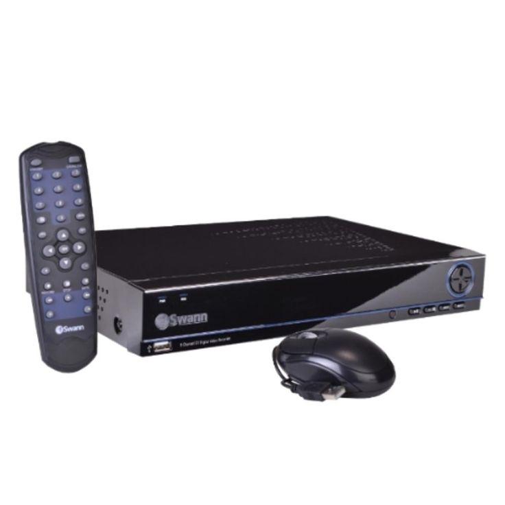 Swann DVR8-3000 8-Channel 500GB DVR Home Security System w/Smartphone Remote Access USB & HDMI - Just Add Cameras