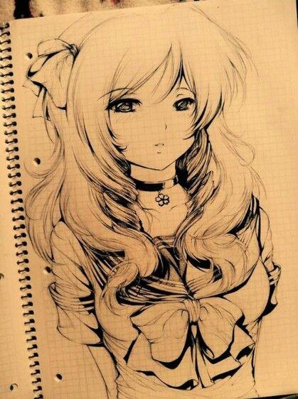 Una ragazza molto carina