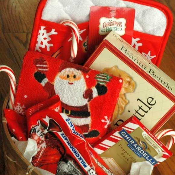 Homemade Christmas Gifts For Family Santas Hamper