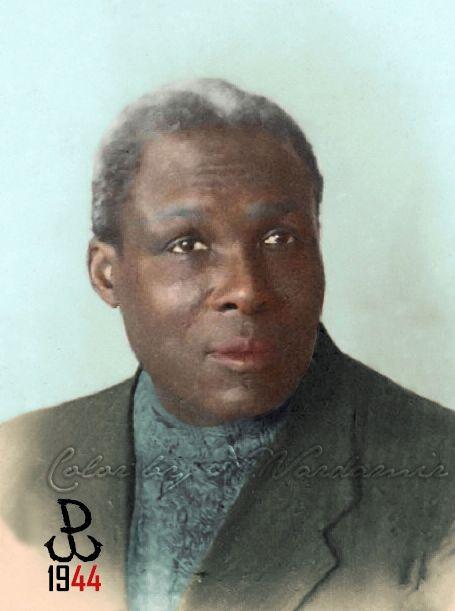 Kolorowy Świat Nessy czyli... Stare zdjęcia ręcznie kolorowane: August Agbola. Jedyny, czarnoskóry powstaniec wars...