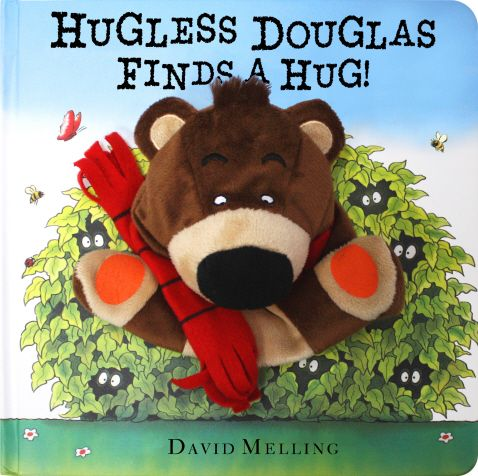 A brand new book in the bestselling series from the critically acclaimed author, David Melling.  A new Hugless Douglas book in this bestselling series with 350,000 copies sold to date in 22 languages.  This irresistibly soft, cuddly and interactive puppet book will endear Hugless Douglas to yet more children - perfect for snuggletime. Join Douglas as he hunts for a hug, stretching, waving, clapping and then opening his arms REALLY wide...  Now everyone can have a Hugless Douglas hug!