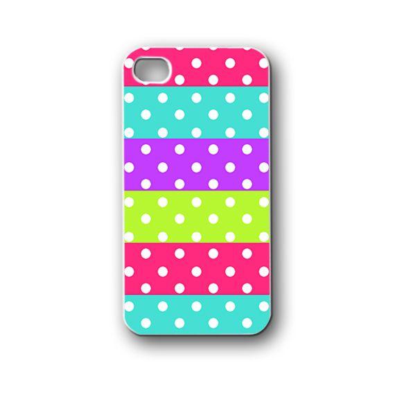 Polkadot - iPhone 4,4S,5,5S,5C, Case - Samsung Galaxy S3,S4,NOTE,Mini, Cover, Accessories,Gift