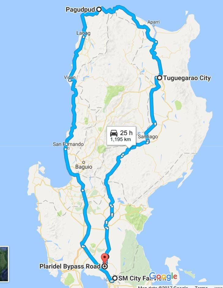 North Luzon Loop (Solo Mountain Bike Ride)https://www.youtube.com/watch?v=y7W_Bv4YZQYSOLO ride: N.Luzon LoopTotal: 1320 kmI used MTB so I can safely use offroad shoulders.April 28 to May 8, 2017Day 1 Manila to Rosales Pangasinan Day 2 Pangasinan to town after San Juan, La Union (half day, vacation mode hehe)Day 3 La Union to ViganDay 4 Vigan to LaoagDay 5 Laoag to Pagudpud ( I reached 3km past Patapat, when the locals  urged me to go back to Pagudpud. The next motel is Claveria, and its…