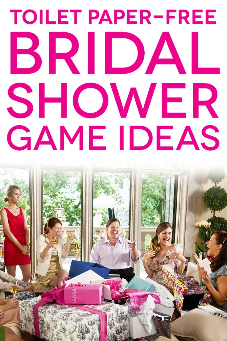 Memorable wedding games for a wedding shower - 6 Fun Wedding Games To Make You Laugh At Your Bridal Shower