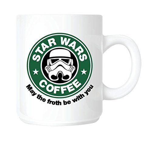 Für alle Kaffee und Star Wars Liebhaber. Eine Tasse im Starbucks Look Like <3 Repin <3