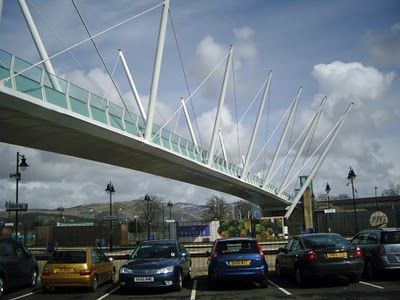The Happy Pontist: Scottish Bridges: 6. Forthside Footbridge