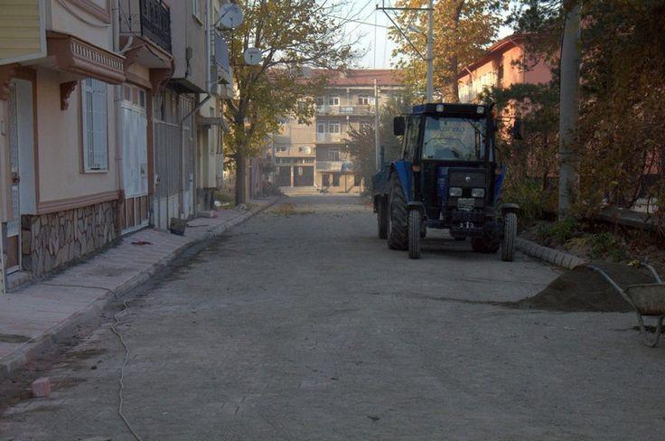 Çimen Sokakta çalışmalar tamamlandı