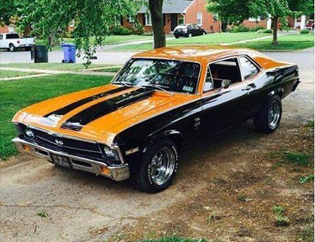 1971 Chevrolet Nova SS | Die heißesten Muskelmaschinen: Oldtimer, Muskelmobile und …   – Nova