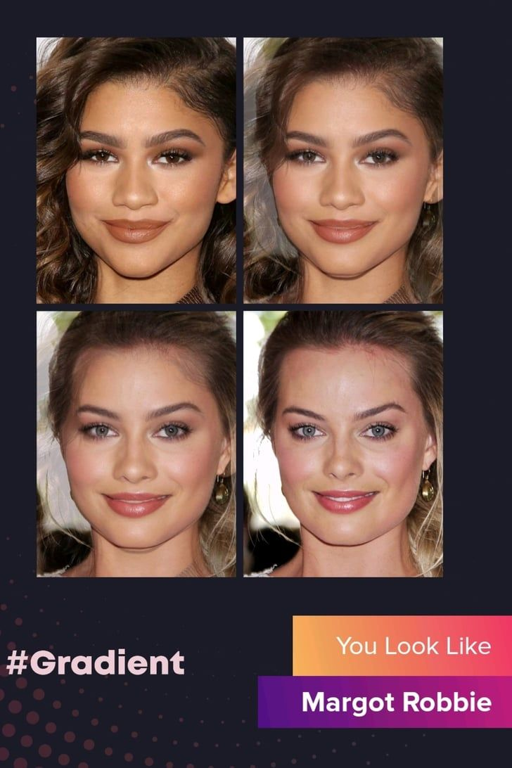 The Gradient App Is All Over Instagram Here S How To Find Your Celebrity Lookalike Celebrity Look Alike Famous Faces Look Alike