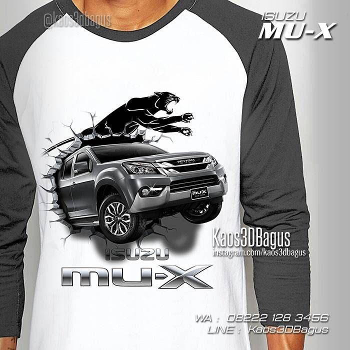 Kaos MOBIL, Kaos ISUZU MU-X, Kaos Mobil Isuzu, Mobil SUV, MPV Car, Kaos Klub Mobil, WA : 08222 128 3456, LINE : Kaos3DBagus, https://kaos3dbagus.wordpress.com/2016/04/29/kaos-mobil-3d-kaos-3d-gambar-mobil-kaos-klub-mobil-indonesia/