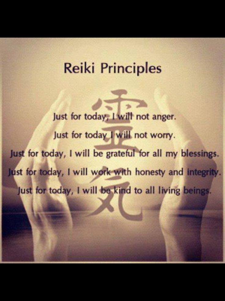 #reiki #gratitude | Reiki principles, Reiki symbols, Reiki