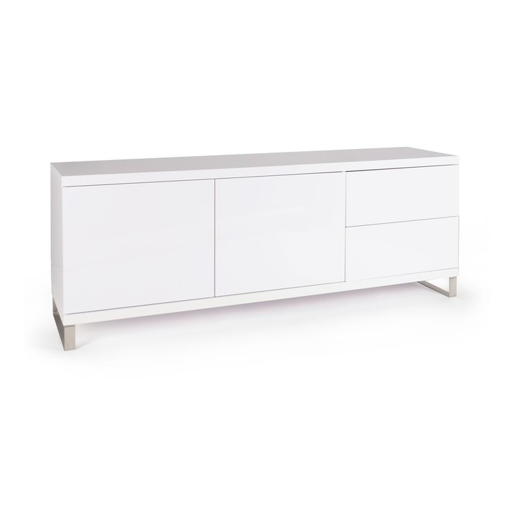 Milan Buffet Cabinet - Gloss White - The Look Store $1695. 1800 x 450 x 670 mm. Contemporary style 2 door, 2 drawer buffet cabinet. Perfert for your lounge or dining room.
