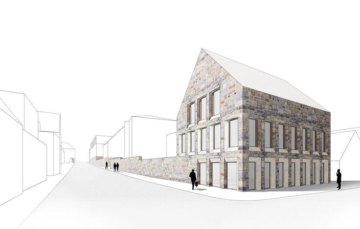 3. Preis: Perspektive Heiersstrasse, © behet bondzio lin architekten