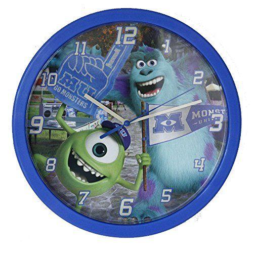 Monsters University Wall Clock, Multi-Colour Monsters University http://www.amazon.co.uk/dp/B00E1FJUTW/ref=cm_sw_r_pi_dp_JRzKvb0C77MPE