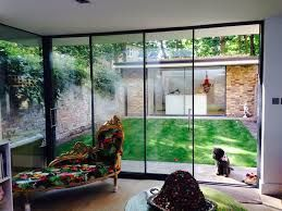 1000 ideas about aluminium french doors on pinterest for Triple french doors exterior
