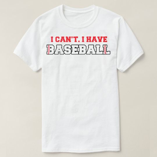I Can't I Have Baseball Custom Shirts //Price: $15.50 & FREE Shipping //     #rickandmorty