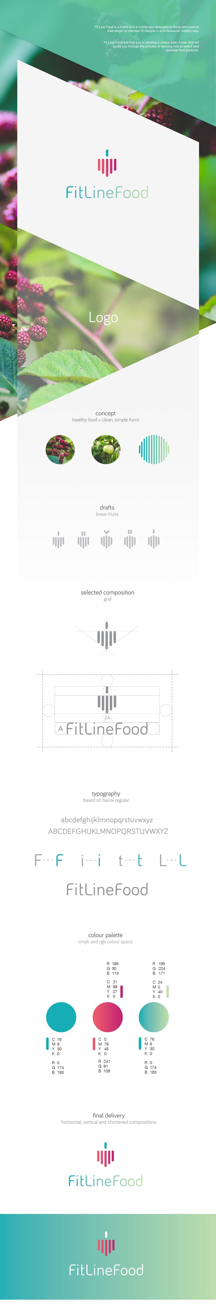 FitLineFood on Behance
