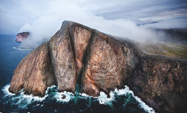 Torngat Mountains National Park - Cliff by Newfoundland and Labrador Tourism, via Flickr