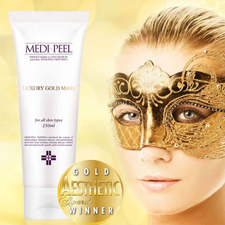 24K Luxury Gold & Caviar Facial Mask Pack Skin Care Massage Masque Anti-Aging #KoreanCosmetic