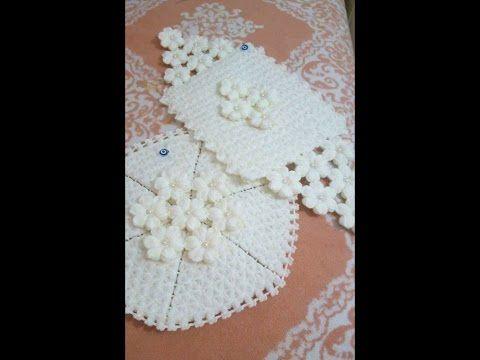 Gelin şalı yapımı - Knit a shawl for bride - YouTube