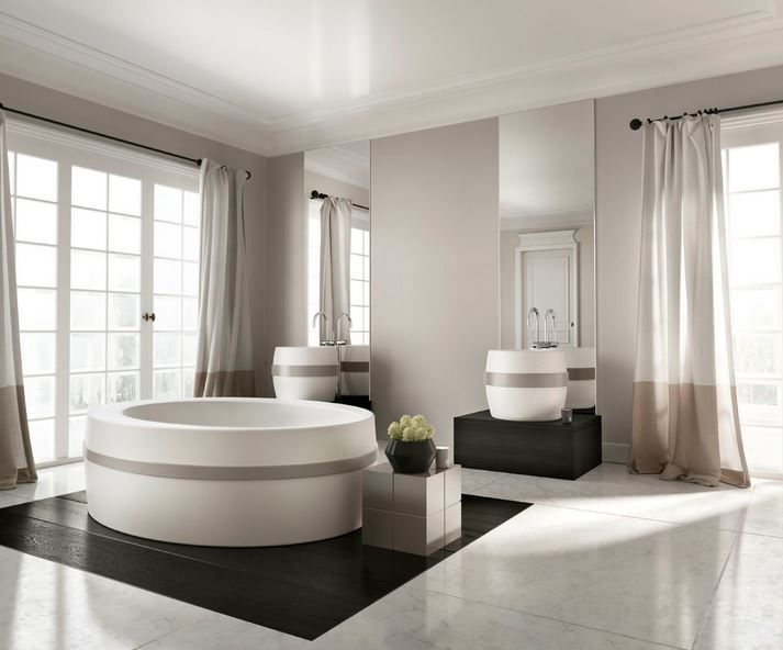Kelly Hoppen designs a beautiful new range of bathware for apaiser | apaiser