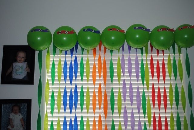 Teenage Mutant Ninja Turtles Birthday Party Ideas | Photo 20 of 33 | Catch My Party