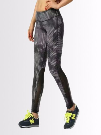 Camo Mesh Tights from Intights