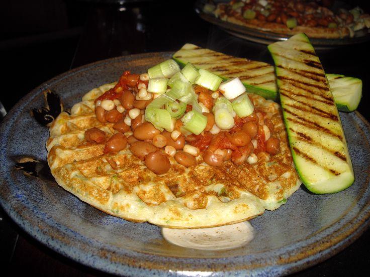 Zucchini Corn Waffles | Waffle | Pinterest