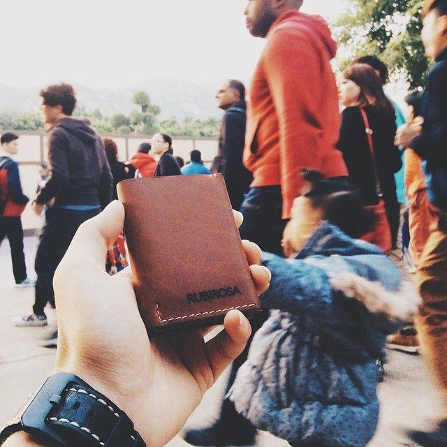 Wander free with the Rubirosa Opal Wallet. Photo taken at Hong Kong Disneyland