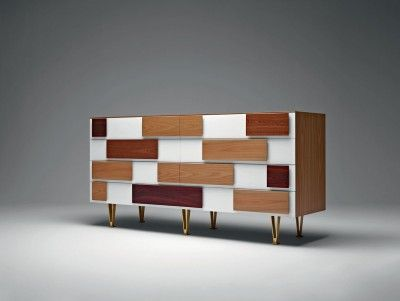 Chest of Drawers two shutters - Gio Ponti Official Store. Buy now on the official store: http://store.gioponti.org/en/furniture/136-cassettoni.html #furniture #design