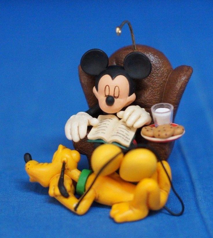 Mickey Mouse Pluto Disney Hallmark Ornament Dreaming of Christmas 2006 #Hallmark