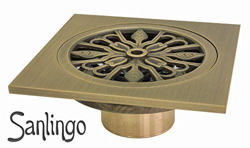 Bodenablauf Abfluss 10 x 10 cm Antik Messing Dusche Bad Keller Geruchsverschluss Garage Sanlingo Sanlingo http://www.amazon.de/dp/B00J12M2BI/ref=cm_sw_r_pi_dp_USV.wb19K3ANC