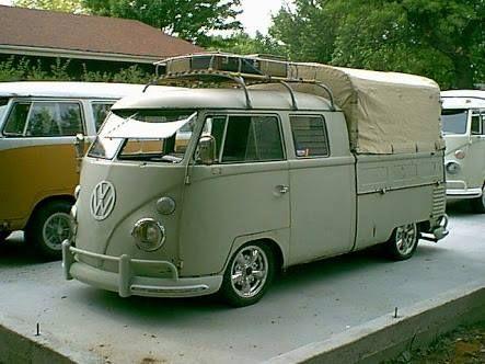 T1 VW Bus double cab pick up vintage (Brasil)