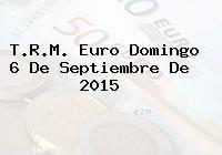 http://tecnoautos.com/wp-content/uploads/imagenes/trm-euro/thumbs/trm-euro-20150906.jpg TRM Euro Colombia, Domingo 6 de Septiembre de 2015 - http://tecnoautos.com/actualidad/finanzas/trm-euro-hoy/trm-euro-colombia-domingo-6-de-septiembre-de-2015/