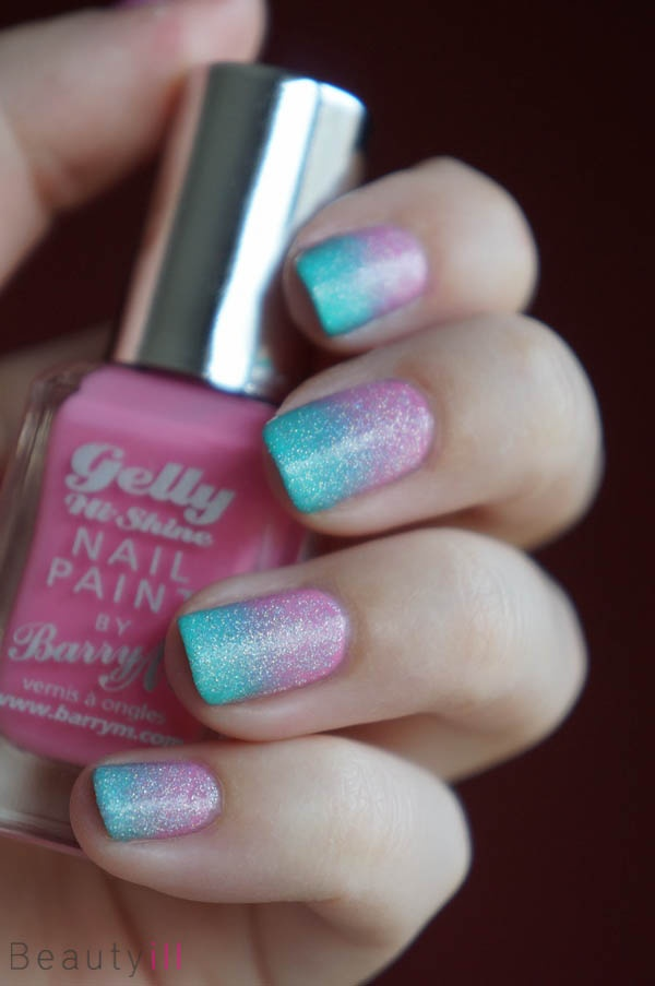 DIY Nail Art | My Little Pony Gradient ~ Beautyill | Beautyblog met nail art, nagellak, make-up reviews en meer!