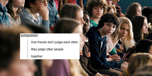 True friends? Puh-lease, it's a lot more than that #StrangerThings