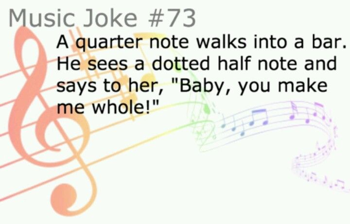 wow, i never really felt like a music nerd until i laughed out loud at this joke. awesome!!